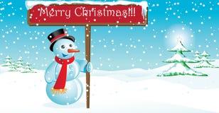 Frohe Weihnachten Lizenzfreie Abbildung
