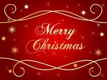 Frohe Weihnachten 2 Stockfotografie