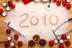 Frohe Weihnachten 2010 Lizenzfreie Stockfotografie