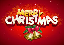 Frohe Weihnachten. Lizenzfreies Stockbild