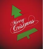 Frohe Weihnachten 3 Lizenzfreie Abbildung