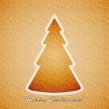 Frohe Weihnachten. Lizenzfreies Stockfoto