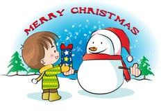 Frohe Weihnachten Stockbild