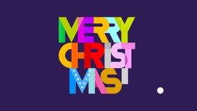 Frohe Weihnachten! stock video footage