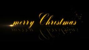 Frohe Weihnachten stock video
