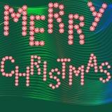 Frohe Weihnachten, Fahne Lizenzfreies Stockbild