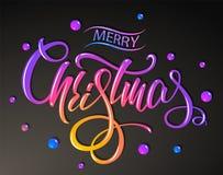 Frohe Weihnachten Glückliche Kinder tanzen in einen Kreis um Schneemann am Weihnachtsabend Bunte Briefgestaltung Auch im corel ab vektor abbildung