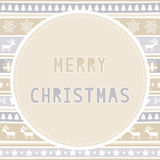 Frohe Weihnachten Grußcard39 Stockfoto