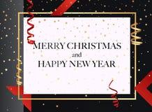 Frohe Weihnachten Kann für Dekoration, Fahnen und Karte verwendet werden vektor abbildung
