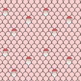 Frohe Weihnachten nahtlos Lizenzfreie Stockbilder