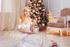Frohe Weihnachten, neues Jahr Stockbild