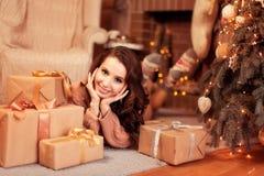 Frohe Weihnachten, neues Jahr Stockfotografie