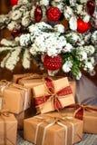Frohe Weihnachten, neues Jahr Stockfotos