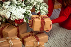 Frohe Weihnachten, neues Jahr Stockfoto
