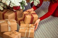 Frohe Weihnachten, neues Jahr lizenzfreie stockbilder