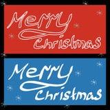 Frohe Weihnachten, Satz stock abbildung