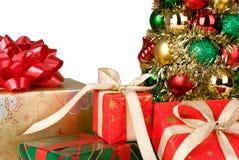 Frohe Weihnachten und frohe Feiertage Stockbild