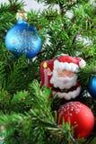 Frohe Weihnachten und glückliches neues Jahr Stockfotografie