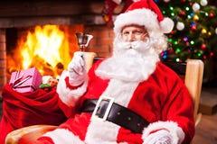 Frohe Weihnachten und guten Rutsch ins Neue Jahr! Stockfotos