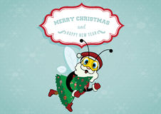 Weihnachtsbiene
