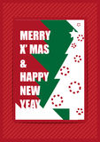 Frohe Weihnachten und guten Rutsch ins Neue Jahr Lizenzfreie Stockfotografie