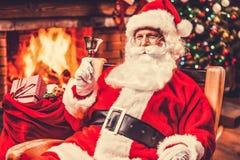 Frohe Weihnachten und guten Rutsch ins Neue Jahr! Stockbilder