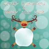 Frohe Weihnachten und guten Rutsch ins Neue Jahr Stockfoto
