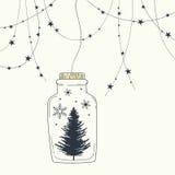 Frohe Weihnachten und guten Rutsch ins Neue Jahr Lizenzfreie Stockfotos