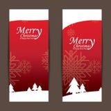 Frohe Weihnachten und guten Rutsch ins Neue Jahr, Design Stockfotografie
