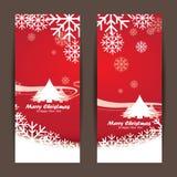 Frohe Weihnachten und guten Rutsch ins Neue Jahr, Design Stockbild