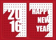 Frohe Weihnachten und guten Rutsch ins Neue Jahr ließen uns feiern Lizenzfreies Stockbild