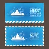 Frohe Weihnachten und guten Rutsch ins Neue Jahr, Vektordesign Lizenzfreie Stockfotografie
