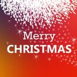 Frohe Weihnachten und neues Jahr Stockfotografie