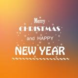 Frohe Weihnachten und neues Jahr Lizenzfreie Stockfotografie