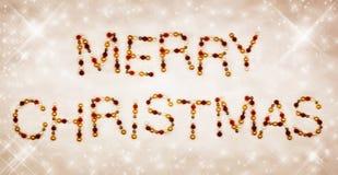 Frohe Weihnachten V2 Stockbild