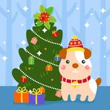 Frohe Weihnachten vecter lizenzfreie stockbilder
