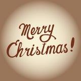 Frohe Weihnachten Vektor Lizenzfreies Stockbild