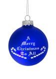 Frohe Weihnachten zu allen lizenzfreie stockbilder