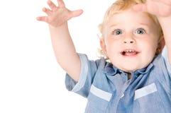 Froher kleiner Junge lizenzfreie stockbilder