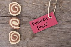 Frohes Fest Royalty Free Stock Photo