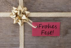 Frohes fest Stock Photography