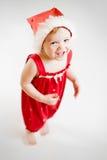 Frohes kleines Mädchen Stockfoto