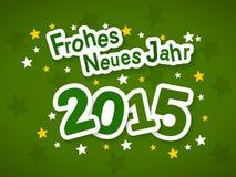 Frohes Neues Jahr 2015 Стоковое Изображение RF