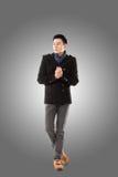 Froid asiatique de sensation de jeune homme photos libres de droits