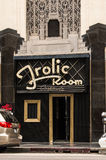 Frolic Room Hollywood Day. The historic Frolic Room bar in Hollywood, California during an overcast day Royalty Free Stock Photos