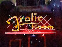 Frolic Room Hollywood. Iconic Frolic Room in Hollywood Stock Photography