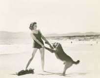 Free Frolicking On The Beach Royalty Free Stock Images - 59794339