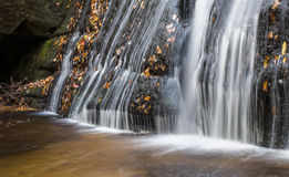 Frolictown Falls in the Fall Royalty Free Stock Photography