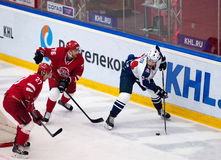 A. Frolov (24) dribble Stock Image