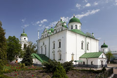 Frolovsky monastery, Podol, Kiev Stock Photo